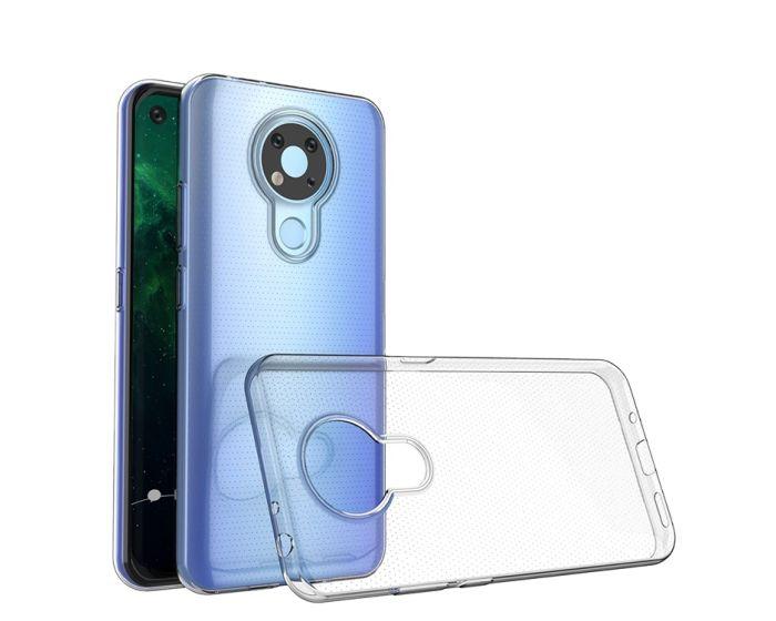 Ultra Slim 0.5mm Silicone Case Θήκη Σιλικόνης Διάφανο (Nokia 3.4)