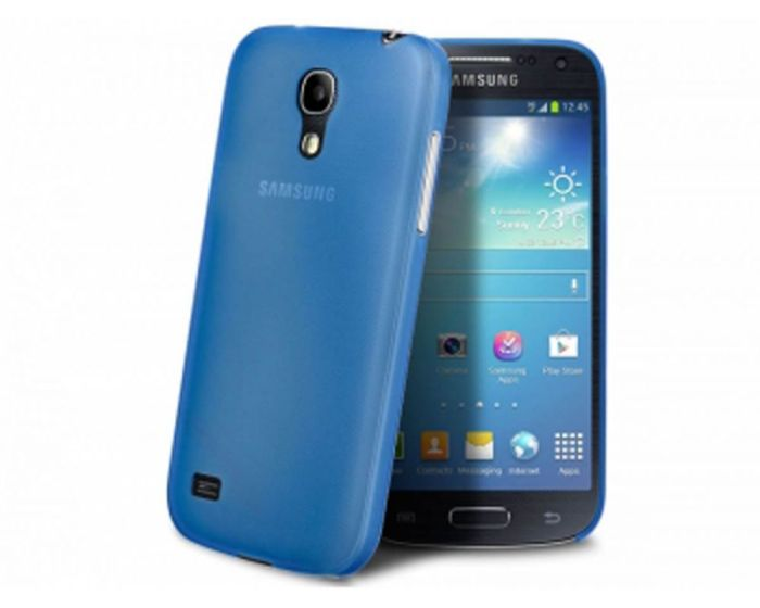 Θήκη 0.5mm Ultra Thin Matte Case OEM - Γαλάζιο (Samsung Galaxy S4 mini)