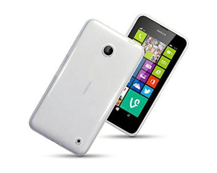 Ultra Thin 0.3mm Silicone Case Διάφανη (Nokia Lumia 630 / 635)