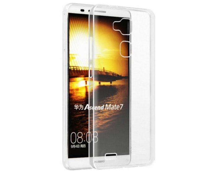 Ultra Thin 0.3mm Silicone Case Διάφανη (Huawei Ascend G8)