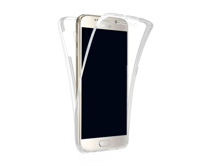 Forcell Full Face Ultra Thin 0.3mm Silicone Case Όψης & Πλάτης Διάφανη (Samsung Galaxy J3 2017)