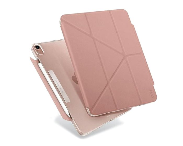 UNIQ Camden Antimicrobial Case με Δυνατότητα Stand - Pink (iPad Air 4 2020)
