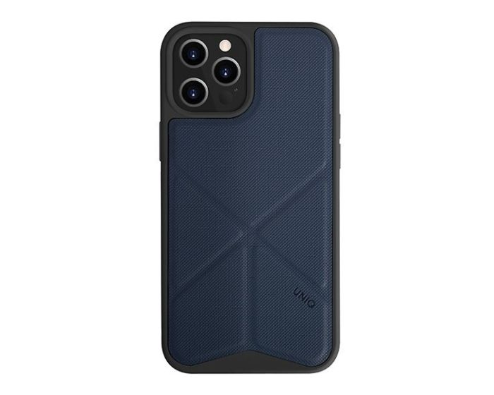 UNIQ Transforma Stand Case Electric Blue (iPhone 12 Pro Max)