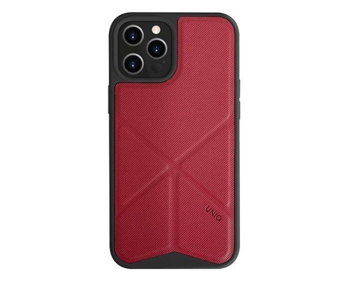 UNIQ Transforma Stand Case Red (iPhone 12 / 12 Pro)