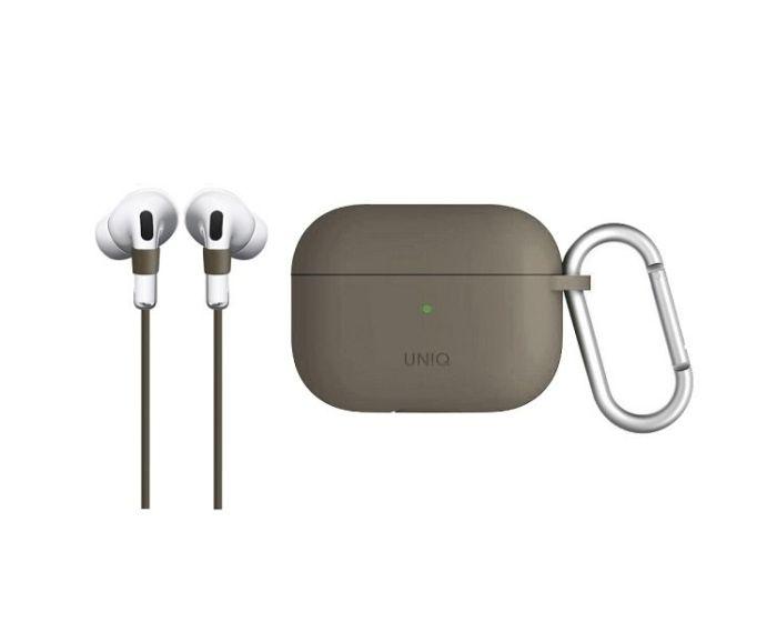 UNIQ Vencer Protective Case & Holding Strap για τα Apple AirPods Pro - Beige