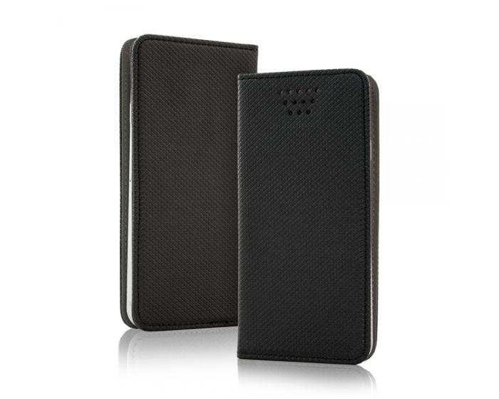"""Universal Smart Wallet Case Θήκη Πορτοφόλι Μαύρο για συσκευές με οθόνη από 4.5"""" μέχρι 5.0"""""""