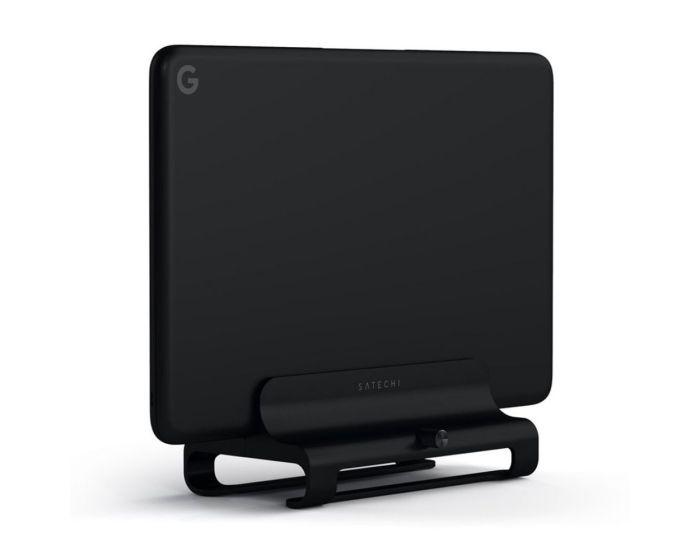 SATECHI Aluminium Vertical Laptop Stand Βάση Στήριξης για MacBook / Laptop - Black