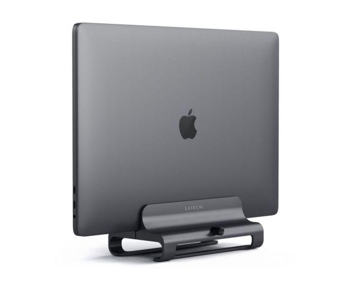 SATECHI Aluminium Vertical Laptop Stand Βάση Στήριξης για MacBook / Laptop - Space Grey