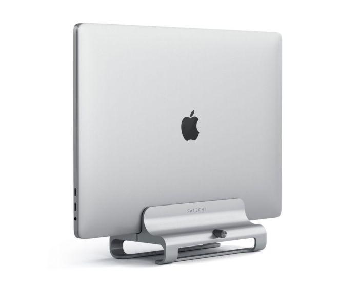 SATECHI Aluminium Vertical Laptop Stand Βάση Στήριξης για MacBook / Laptop - Silver