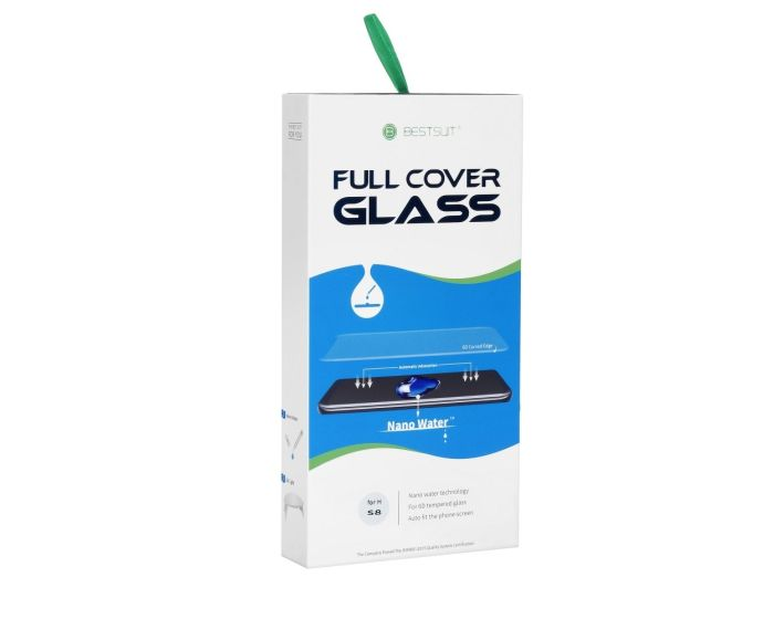 Bestsuit UV Nano 9H Full Cover Tempered Glass - Liquid Dispersion Tech (Samsung Galaxy S8)