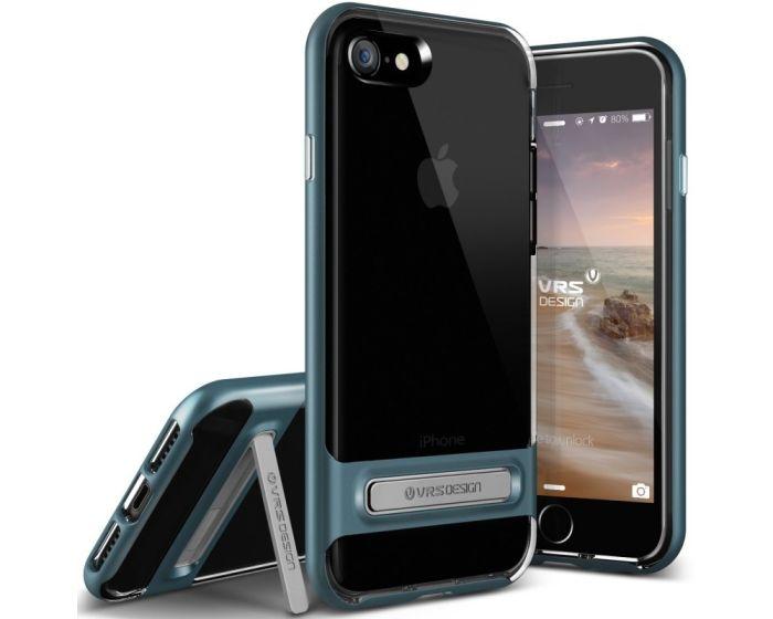 Verus Crystal Bumper Case with Kickstand (VRS041BLU) Steel Blue (iPhone 7 / 8 / SE 2020)