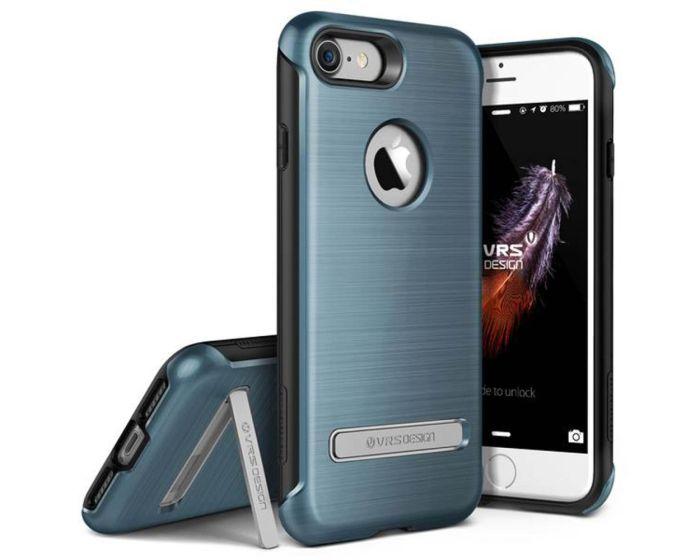 VRS Design Rugged Duo Guard Case (VRIP7-DGDBB) + Tempered Glass Deep Blue (iPhone 7 / 8)