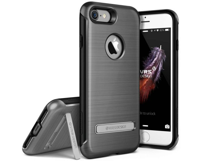 Verus Rugged Duo Guard Case (VRIP7-DGDDS) Steel Silver (iPhone 7 / 8)