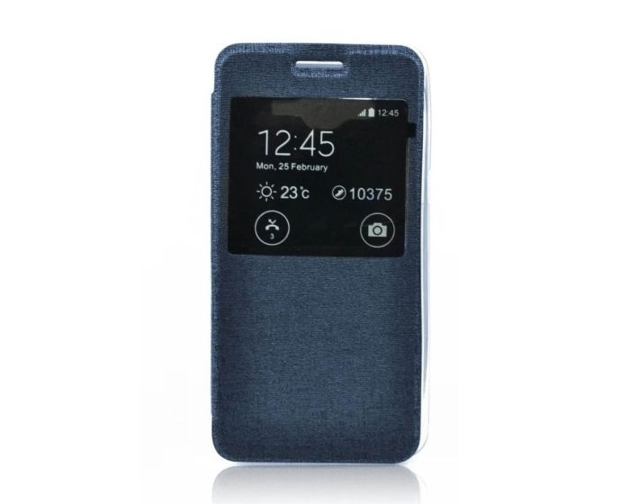 Forcell S View Flexi Flip Case Blue (Sony Xperia Z5 Compact)