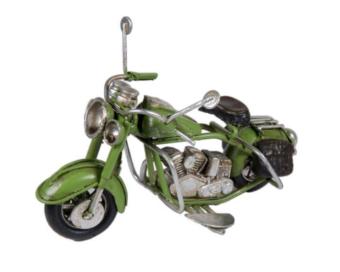 Vintage Διακοσμητική Μεταλλική Μηχανή - Πράσινο
