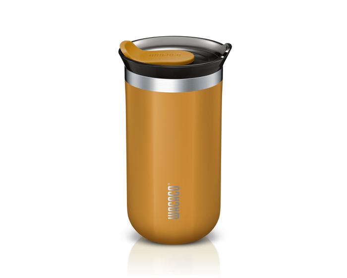 Wacaco Octaroma Lungo Travel Mug 300ml Θερμός - Amber Yellow