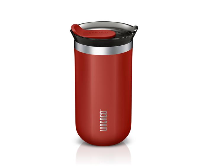Wacaco Octaroma Lungo Travel Mug 300ml Θερμός - Carmine Red