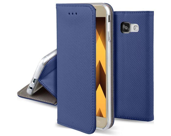 Forcell Smart Book Case με Δυνατότητα Stand Θήκη Πορτοφόλι Μπλε (Samsung Galaxy A5 2017)