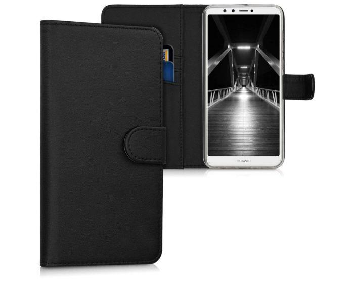 KWmobile Θήκη Πορτοφόλι Wallet Case (44727.01) Black (Huawei Y9 2018)