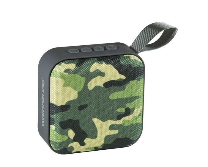 Watchitude Jamm'd Bluetooth Speaker (WTD-982) Ασύρματο Ηχείο Army