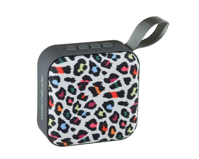 Watchitude Jamm'd Bluetooth Speaker (WTD-985) Ασύρματο Ηχείο Leopard