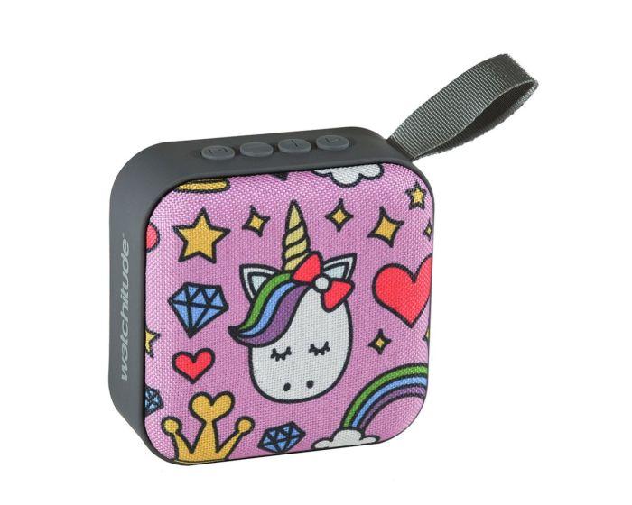 Watchitude Jamm'd Bluetooth Speaker (WTD-987) Ασύρματο Ηχείο Princess Unicorn