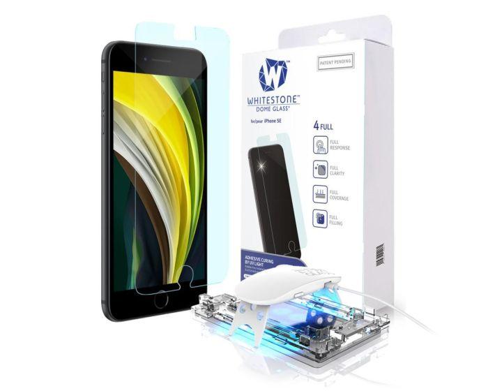 Whitestone Dome Glass (Liquid Dispersion Tech) Full Cover Tempered Glass Screen Protector (iPhone 7 / 8 / SE 2020)