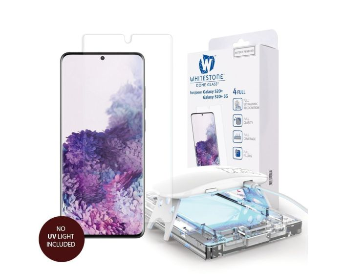 Whitestone Dome Glass (Liquid Dispersion Tech) Full Cover Tempered Glass Replacement (Samsung Galaxy S20)