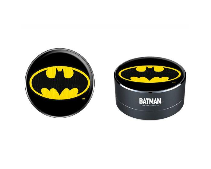DC Comics Bluetooth Wireless Speaker 3W Ασύρματο Ηχείο - 001 Batman Black