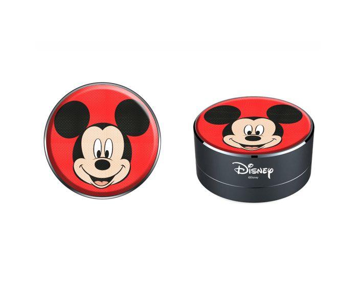Disney Bluetooth Wireless Speaker 3W Ασύρματο Ηχείο - 001 Mickey Red