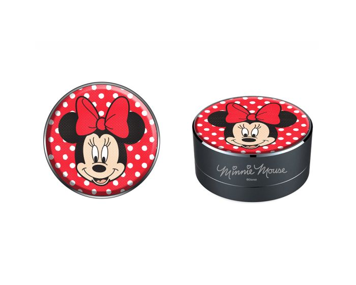 Disney Bluetooth Wireless Speaker 3W Ασύρματο Ηχείο - 001 Minnie Red