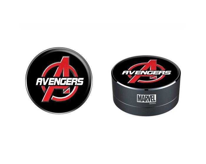 Marvel Bluetooth Wireless Speaker 3W Ασύρματο Ηχείο - 002 Avengers Black