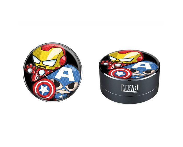 Marvel Bluetooth Wireless Speaker 3W Ασύρματο Ηχείο - 003 Avengers Multicolor