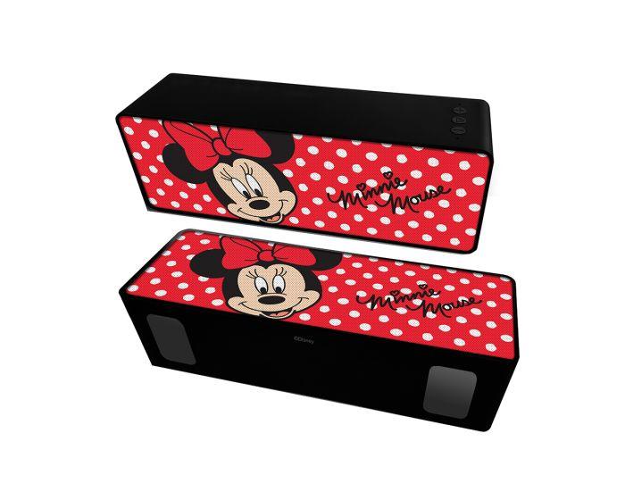 Disney Bluetooth Wireless 2.1 Speaker 10W Ασύρματο Ηχείο - 001 Minnie Red