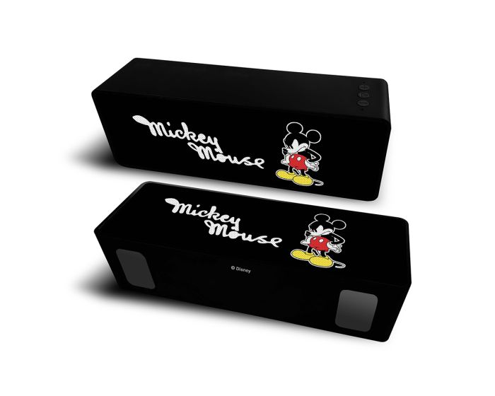 Disney Bluetooth Wireless 2.1 Speaker 10W Ασύρματο Ηχείο - 002 Mickey Black