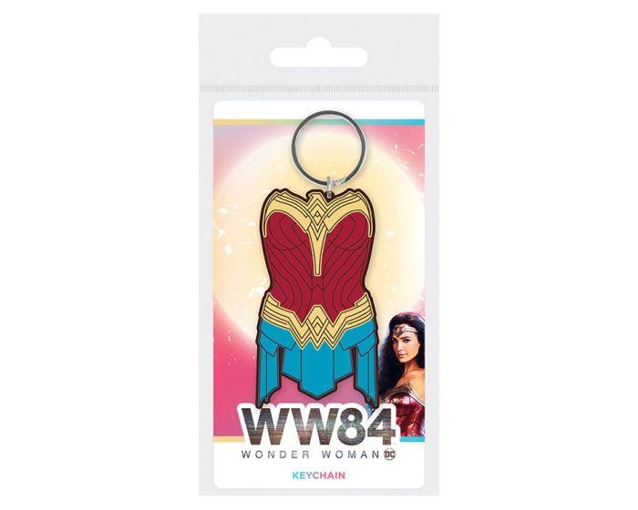 Wonder Woman 1984 (Amazonian Armor) Rubber Keychain - Μπρελόκ