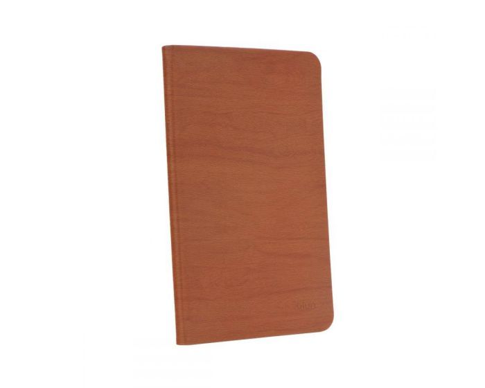 Wooden Pattern Case Stand - Brown (Samsung Galaxy Tab S2 9.7 - T810 / T815)