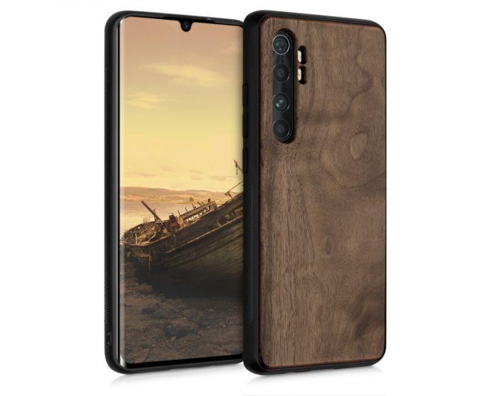 KWmobile Wooden Case (52775.18) Θήκη Ξύλινη Walnut Dark Brown (Xiaomi Mi Note 10 Lite)