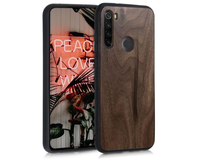 KWmobile Wooden Case (50959.18) Θήκη Ξύλινη Walnut Dark Brown (Xiaomi Redmi Note 8T)