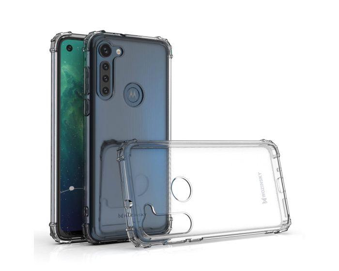 Wozinsky Anti Shock Durable Case Ανθεκτική Θήκη Σιλικόνης Clear (Motorola Moto G8 Power)