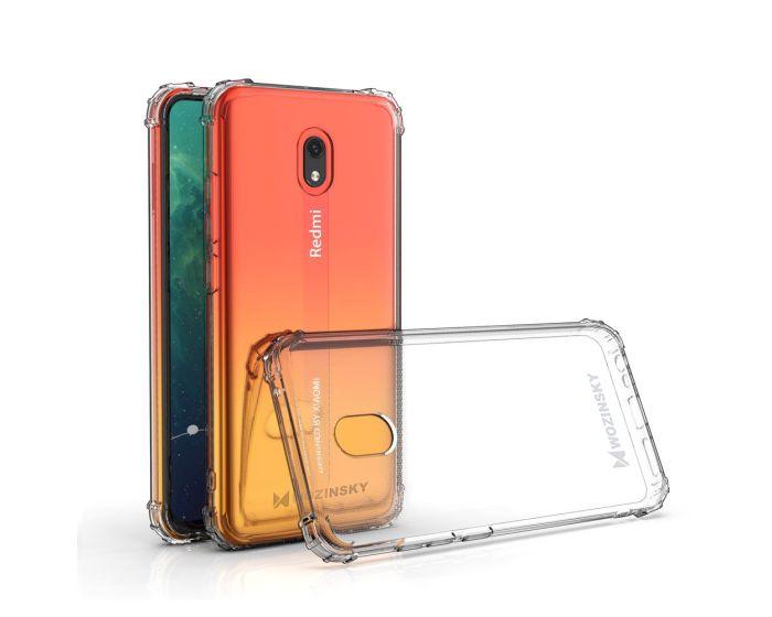 Wozinsky Anti Shock Durable Case Ανθεκτική Θήκη Σιλικόνης Clear (Xiaomi Redmi 8A)