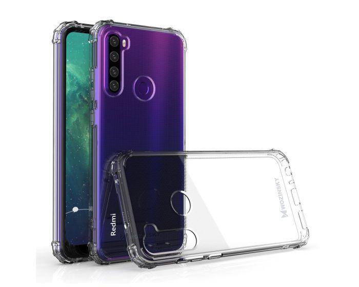 Wozinsky Anti Shock Durable Case Ανθεκτική Θήκη Σιλικόνης Clear (Xiaomi Redmi Note 8T)