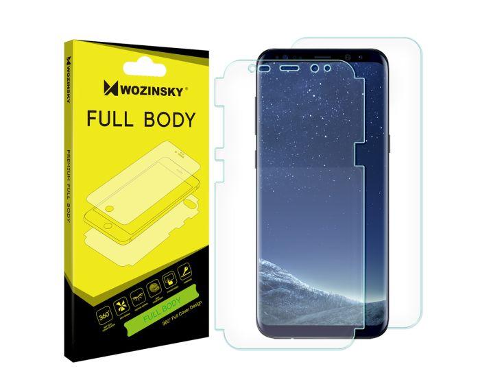 WOZINSKY Premium Full Body Screen Protector Self - Repair Front&Back (Samsung Galaxy S8 Plus)