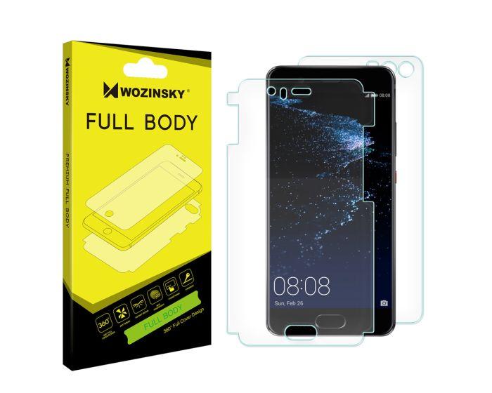 WOZINSKY Premium Full Body Screen Protector Self - Repair Front&Back (Huawei P10)