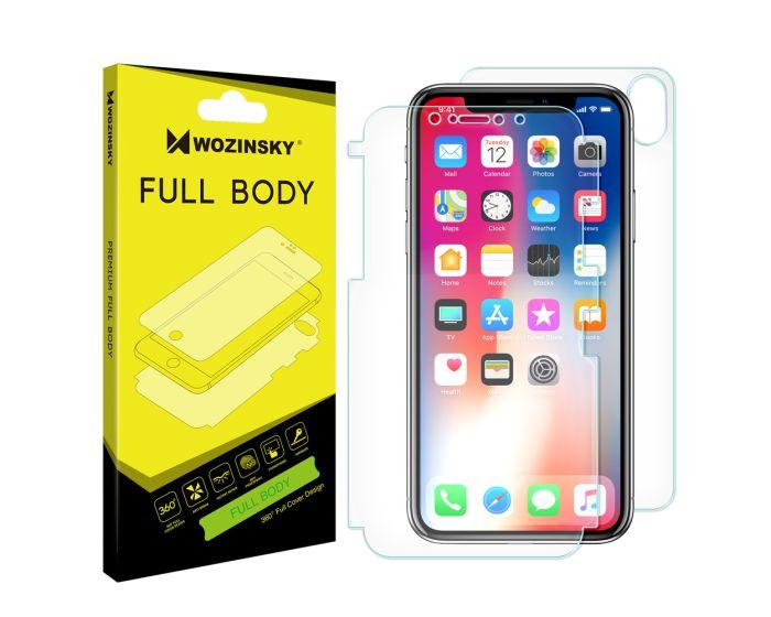 WOZINSKY Premium Full Body Screen Protector Self - Repair Front&Back (iPhone X / Xs)