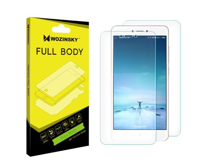 WOZINSKY Premium Full Body Screen Protector Self - Repair Front&Back (Xiaomi Redmi Note 4 / 4X)