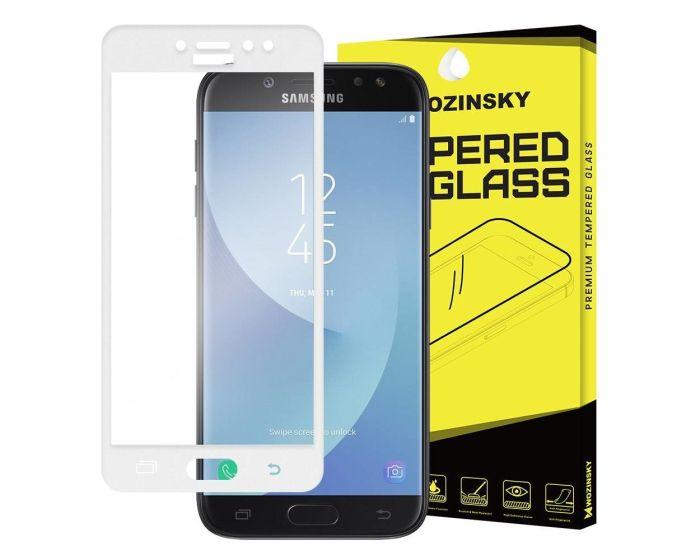 WOZINSKY Full Screen 9H Tempered Glass Screen Protector - White (Samsung Galaxy J5 2017)