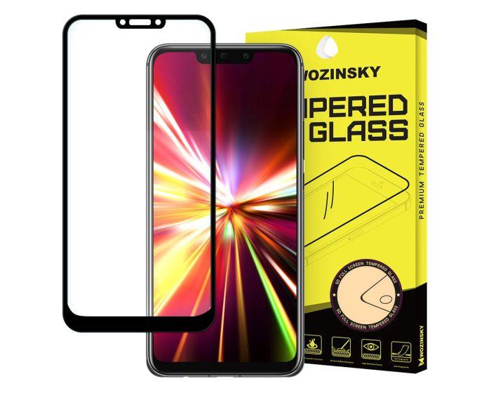 Wozinsky Full Glue Full Face Black Αντιχαρακτικό Γυαλί 9H Tempered Glass (Huawei Mate 20 Lite)