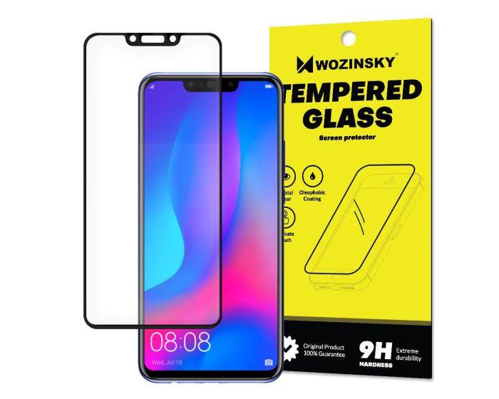 Wozinsky Full Glue Full Face Case Friendly Black Αντιχαρακτικό Γυαλί 9H Tempered Glass (Huawei Nova 3)