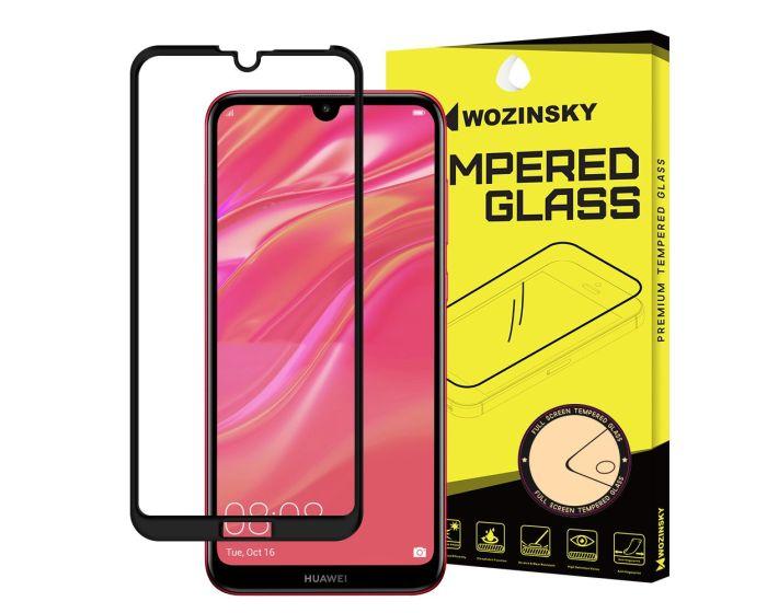 Wozinsky Full Glue Full Face Case Friendly Black Αντιχαρακτικό Γυαλί 9H Tempered Glass (Huawei Y7 2019 / Y7 Pro 2019)